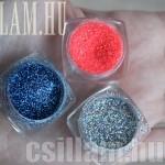 Polip csillámtetoválás 3 féle színezéssel