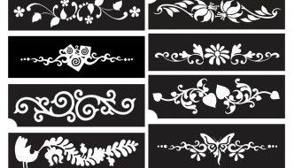 Szép karkötő mintás, virágos csillámtetoválás – VIDEO